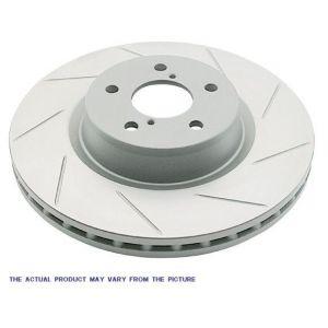 BrakeStop Voor Remschijven Sport Gegroefd 242mm Honda Civic,Del Sol-55499