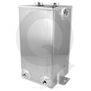 QSP Brandstof Catch Tank Zilver 4 Liter Aluminium-80128