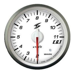 Stri Meter DSD Club Sport Wit 52mm Uitlaat Gas Temperatuur-41720