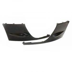 PU Design Voor Bumper Hoekverlichting STI Style Zwart Polyurethane Subaru Impreza-67118