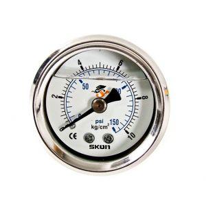 D1 Spec Brandstofdruk Meter Wit-46923
