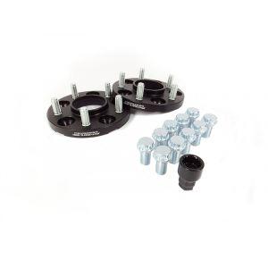 JR-Wheels Spoorverbreders JRWA1 Zwart Aluminium-64410