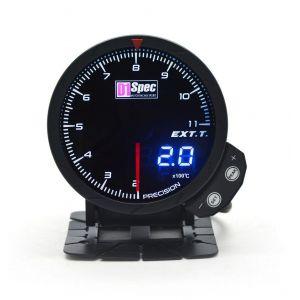 D1 Spec Meter Version 3 Zwart 60mm Uitlaat Gas Temperatuur-62411