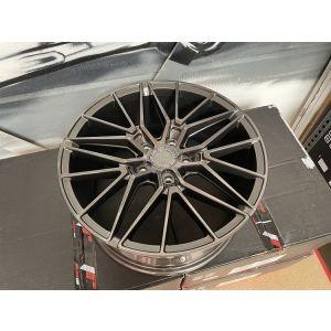 JR-Wheels JR38 Velgen 18 Inch 8J ET40 5x120 Hyper Grijs-W2029
