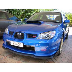 PU Design Voor Bumper Lip CS Style Zwart Polyurethane Subaru Impreza Facelift-30157