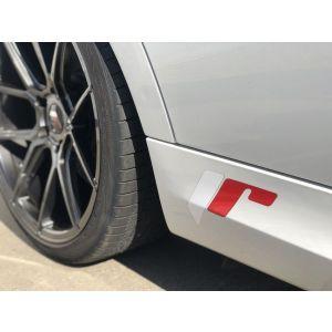 JR-Wheels Sticker Full Color Rood - Wit-55704-KL
