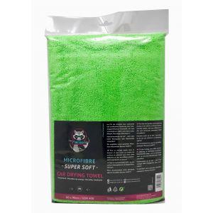 Racoon Car Drying Towel Groen Microfiber-77451