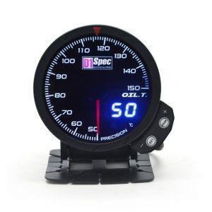 D1 Spec Meter Version 3 Zwart 60mm Olietemperatuur-62403