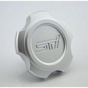 D1 Spec Oliedop Zilver Aluminium Subaru-56143