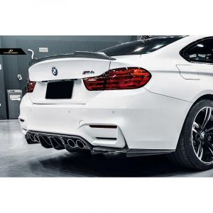 CarbonWorks Achter Spoiler CS Style Carbon BMW 4-serie-67417