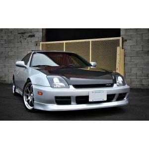 PU Design Voor Bumper Lip OEM Style Zwart Polyurethane Honda Prelude-30171