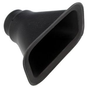 QSP Luchtinlaat Zwart 63mm-53350