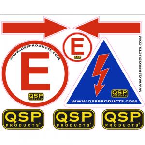 QSP Sticker Set-80223