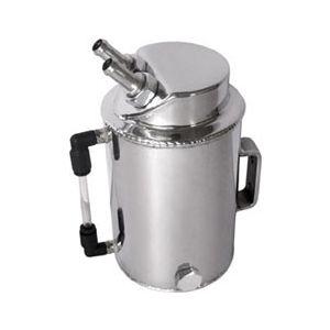 QSP Brandstof Catch Tank Zilver 1 Liter Aluminium-80129