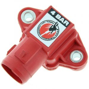 Speedfactory Inlaatspruitstuk Druk Sensor Rood Honda Civic,Accord,Del Sol-66756