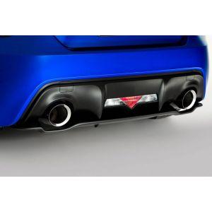 SK-Import Achter Diffuser Zwart ABS Plastic Subaru,Toyota Pre Facelift-55622