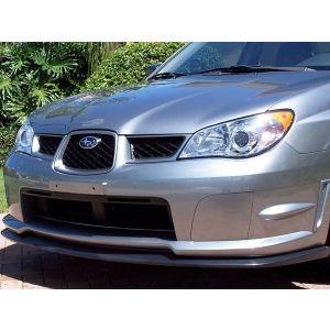 PU Design Voor Bumper Lip STI S204 Style Zwart Polyurethane Subaru Impreza Facelift-30178