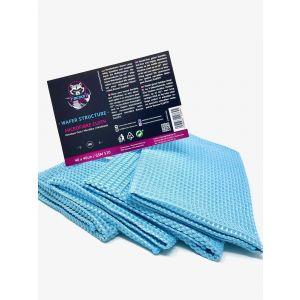 Racoon Wafer Microfibre Cloth Blauw Microfiber-77452