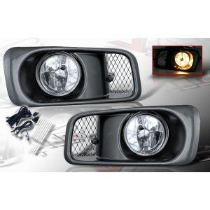 SK-Import Mistlampen OEM Style Chrome Housing Helder Glas Honda Civic Facelift-39468